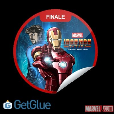 Iron Man GetGlue-exclusive digital sticker