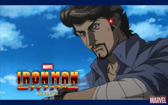 Iron Man Anime Wallpaper #1
