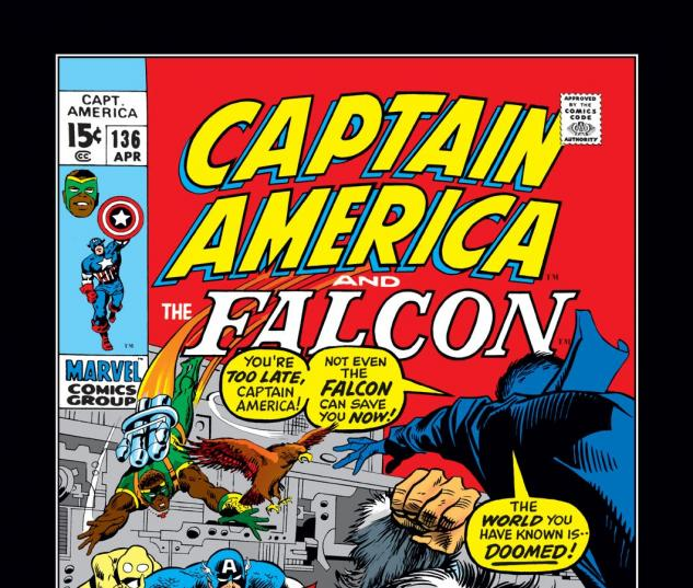 Captain America (1968) #136 Cover