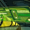 Kang's holographic control panel from The Avengers: Earth's Mightiest Heroes!