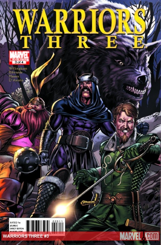 Warriors Three #1
