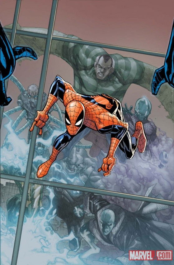 Amazing Spider-Man #676 Cover Art by Humberto Ramos