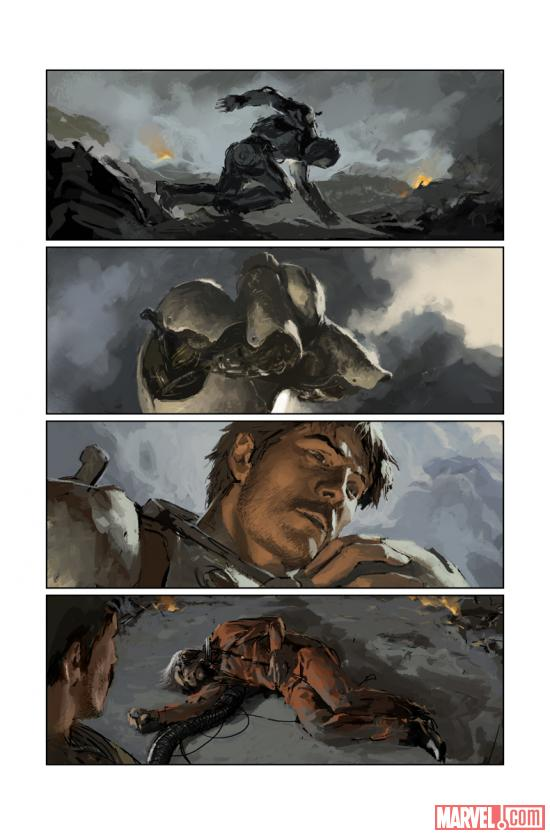 Iron Man: Season One preview art by Gerald Parel
