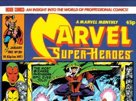 Marvel Super-Heroes (1967) #381 Cover