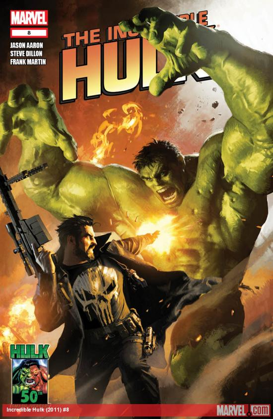 Incredible Hulk #8 cover by Michael Komarck