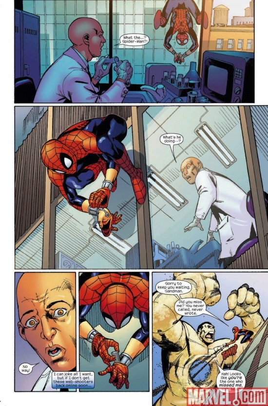 MARVEL ADVENTURES SPIDER-MAN #51, page 5