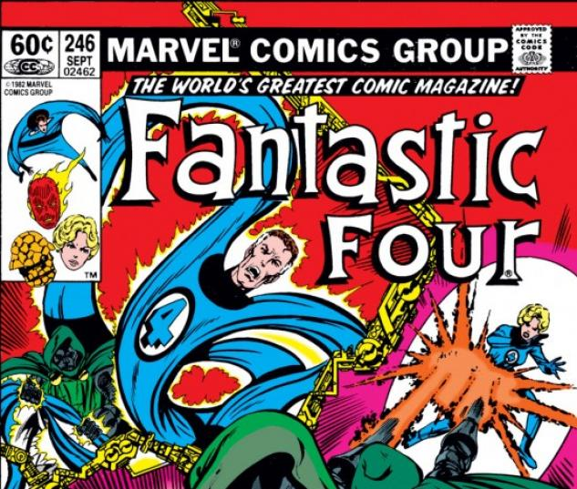 FANTASTIC FOUR #246