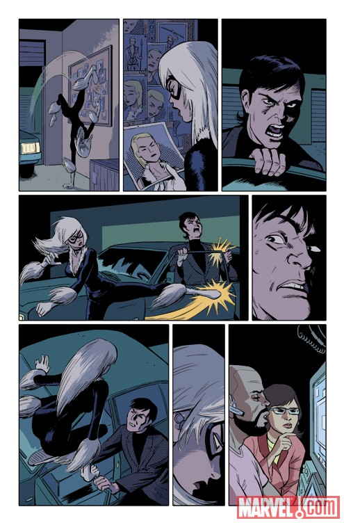 AMAZING SPIDER-MAN PRESENTS: BLACK CAT #3 preview art by Javier Pulido 2