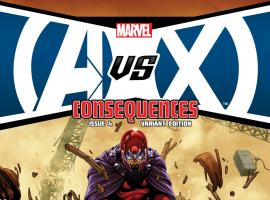 AvX: Consequences #4 variant cover by Mark Brooks