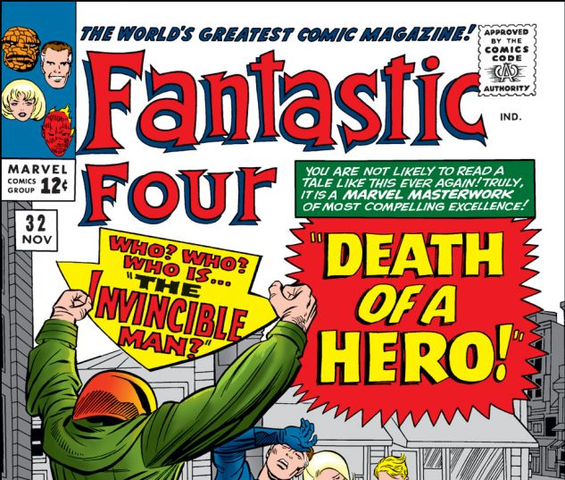 Fantastic Four (1961) #32 Cover