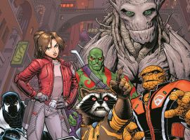 Guardians of the Galaxy #1 cover by Arthur Adams
