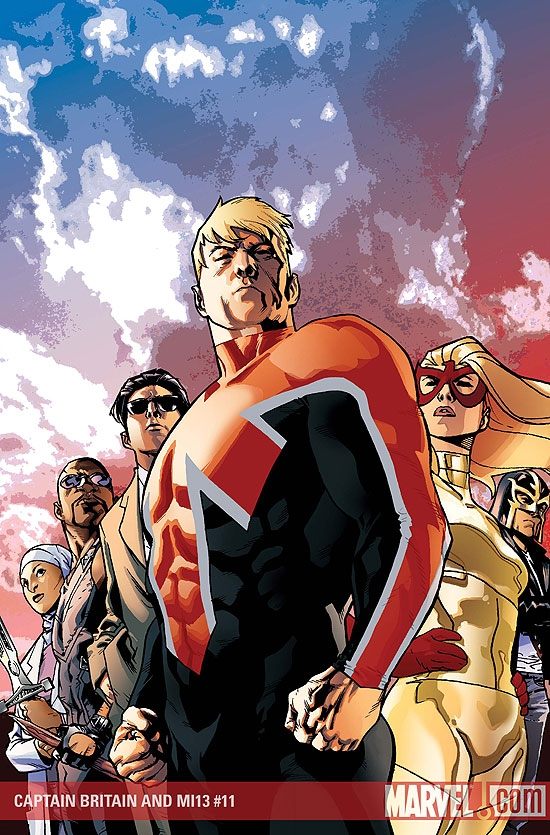 CAPTAIN BRITAIN AND MI13 #11