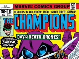 CHAMPIONS #15 COVER