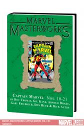 Marvel Masterworks: Captain Marvel Vol. 2 (Variant) (Hardcover)