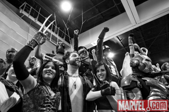 Marvel Cosplay Photo Op