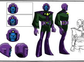 Final color art of Kang from The Avengers: Earth's Mightiest Heroes!