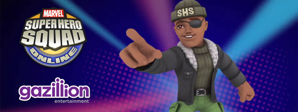 Super Hero Squad Online: Meet Nick Fury