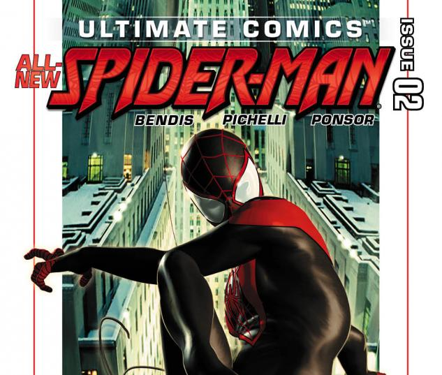 Ultimate Comics Spider-Man (2011) #2 second printing variant cover by Kaare Andrews