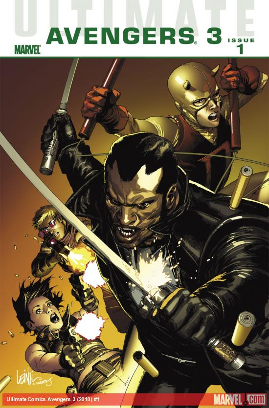 Ultimate Comics Avengers 3 (2010) #1