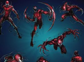 Carnage in Marvel Puzzle Quest