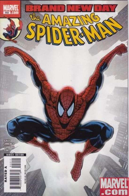 AMAZING SPIDER-MAN #552