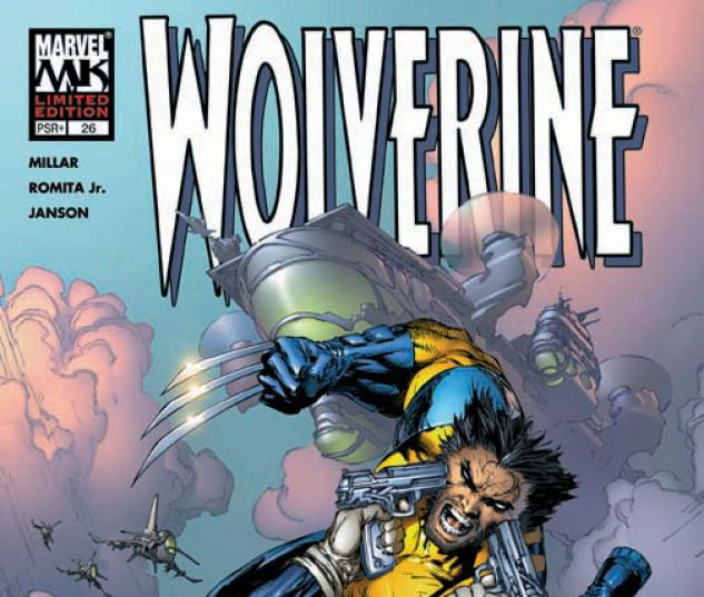 WOLVERINE (2006) #26 (MARC SILVESTRI VARIANT COVER) COVER