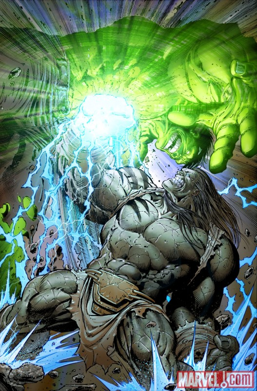 INCREDIBLE HULK #611 preview art by Paul Pelletier 4