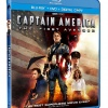 Captain America: The First Avenger Blu-ray/DVD Combo Pack box art