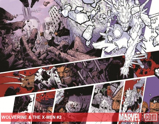 Wolverine &amp; the X-Men #2 preview art by Chris Bachalo