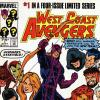 West Coast Avengers #1 cover