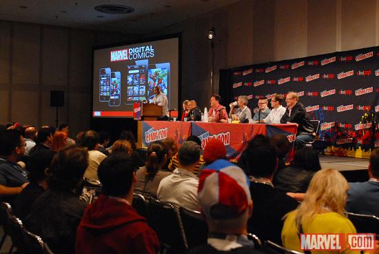 NYCC 2012: Marvel House of Ideas Panel