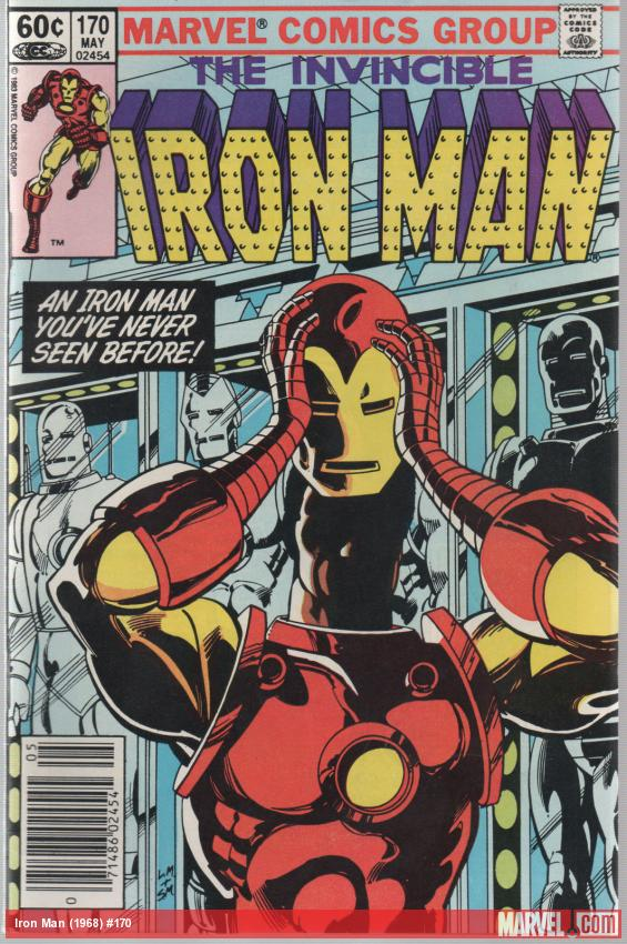 Iron Man #170 cover