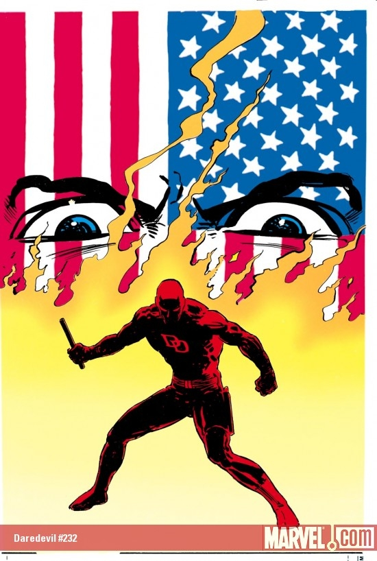 DAREDEVIL #232 COVER