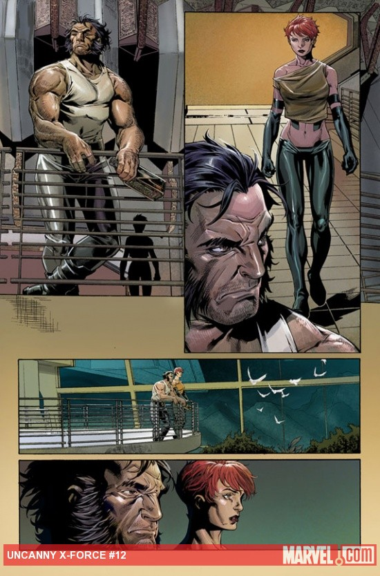 Uncanny X-Force #12 preview art by Mark Brooks