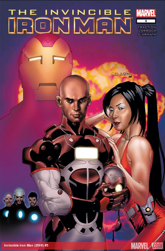 Invincible Iron Man (2008) #5