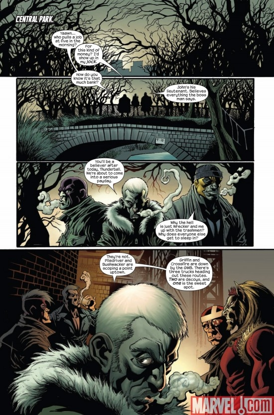 DARK REIGN: THE HOOD #1, page 2