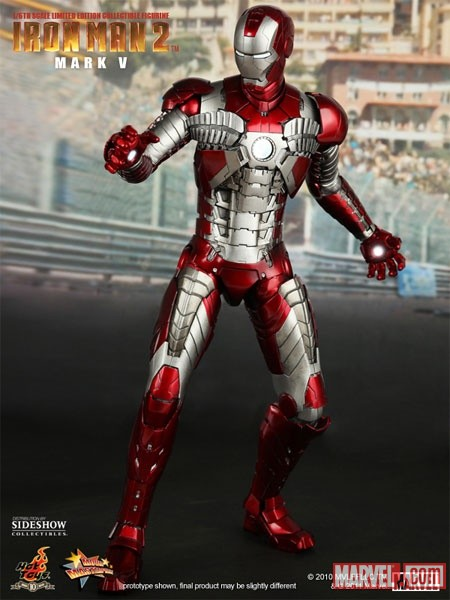 Iron Man Mark V from Sideshow Collectibles and Hot Toys
