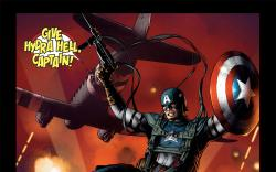 Captain America: First Vengeance #1 preview art by Luke Ross