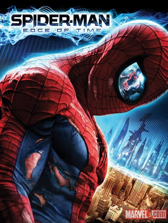 Spider-Man: Edge of Time debut art