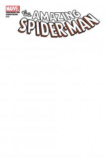 Amazing Spider-Man (1999) #648 (BLANK COVER VARIANT)