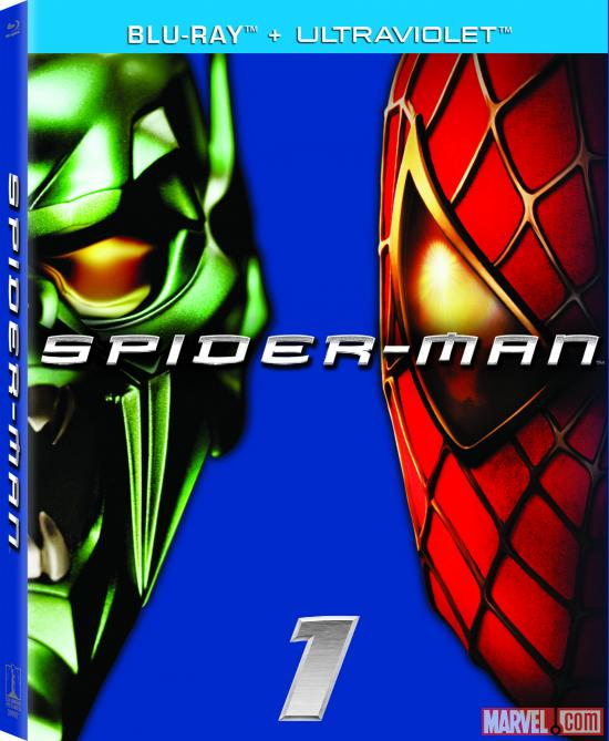 Spider-Man Blu-ray box art