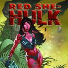RED SHE-HULK 60 STEVENS VARIANT (NOW, 1 FOR 50)