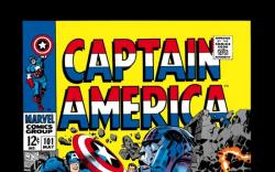 CAPTAIN AMERICA #101 COVER