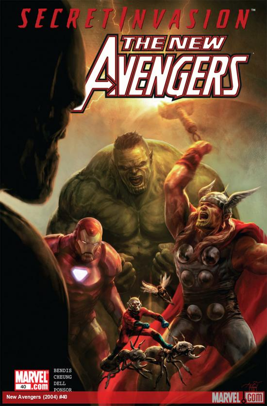 New Avengers (2004) #40