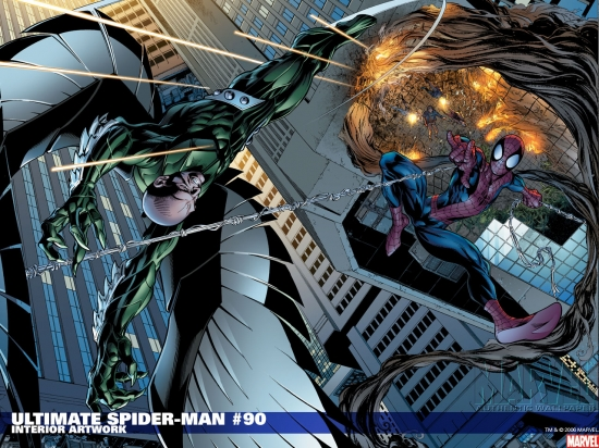 Ultimate Spider-Man (2000) #90 Wallpaper