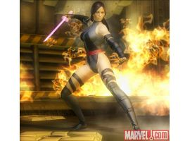 Psylocke in Marvel: Ultimate Alliance 2