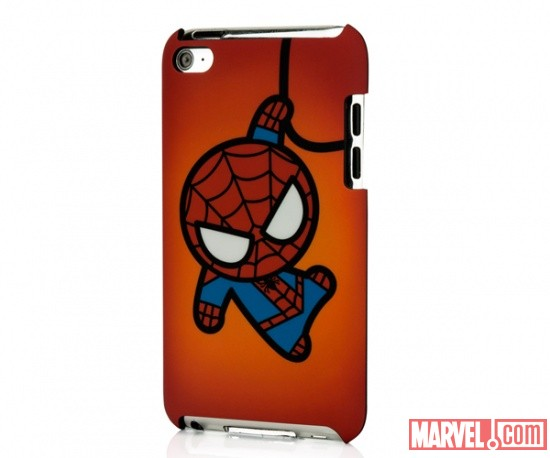 iPod touch 4 Marvel Kawaii Line - Spider Man