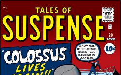 Tales of Suspense (1959) #20 Cover
