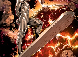 Silver Surfer (2011) #3 preview art by Iban Coello