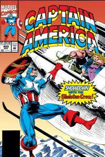 Captain America (1968) #409 Cover